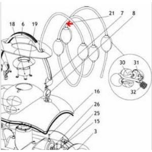 Procopi 1019021 - Câble complet de Lazernaut