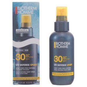 Biotherm Homme UV Defense Sport - Fluide visage invisible hydratant SPF30