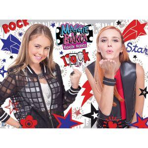 Ravensburger Maggie et Bianca Fashion Friends Rock - Puzzle 150 pièces XXL
