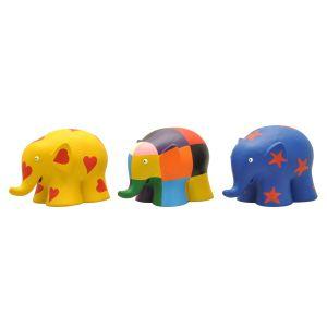Plastoy Figurines Éveil Elmer : Tubo 3 figurines