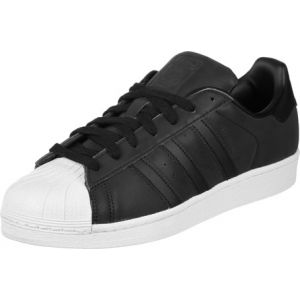 Adidas Superstar, Baskets Femme, Noir (Core Black/Core Black/Footwear White), 36 2/3 EU