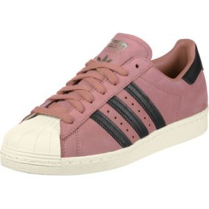 Adidas Superstar 80s W, Chaussures de Fitness Femme, Rose (Roscen/Negbas/Blacre 000), 41 1/3 EU