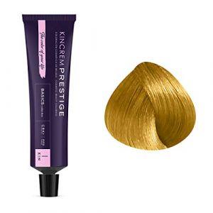 Kin Cosmetics Coloration permanente enrichie à la kératine 9.3 - Blond Très Clair Doré, 60ml