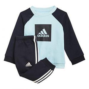 Adidas Ensemble enfant 3 bandes fleece jogger 6 9 mois