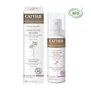 Cattier Eclat de Rose - Concentré regard anti-âge, anti-cernes et anti-poches (15 ml)