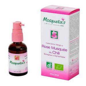 Mosqueta's Rose Huile de Rose Nature Bio - 30 ml