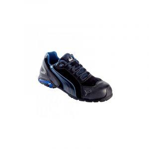 Puma Safety Rio Black Low 642750-43 Chaussures de sécurité S3 Taille: 43 noir, bleu 1 paire