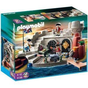Playmobil 5139 - Fort des soldats britanniques avec prison