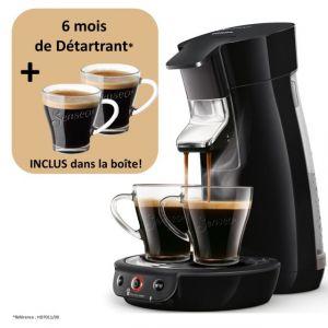 Philips Machine à Café à Dosettes Viva Café - Hd6563/63 - Noir