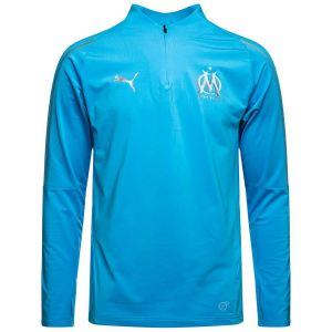 Puma T-shirt OM 1/4 Zip Top 2018/19 bleu - Taille EU M,EU L