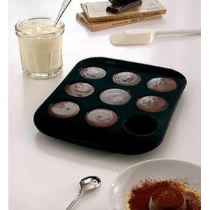 Mastrad Moule à 9 minis muffins