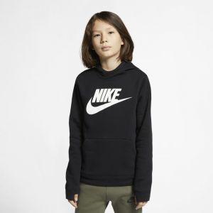 Nike Sweatà capuche en tissu Fleece Sportswear pour Garçon - Noir - Taille L - Male
