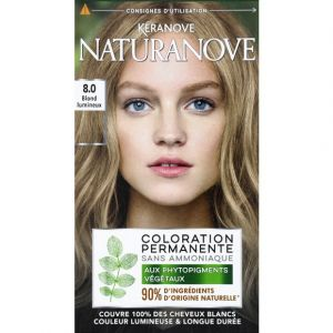 Kéranove Coloration permanente 8,0 blond lumineux - Naturanove
