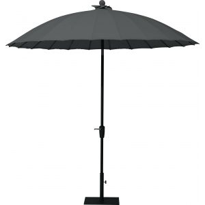 4 Seasons Outdoor Shanghai - Parasol droit rond inclinable ø 250cm