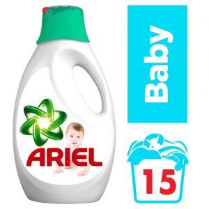 Ariel Lessive liquide bébé (15 doses) - Le bidon de 0,975L