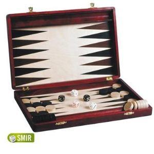 Smir Coffret Backgammon en bois