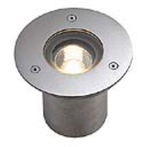SLV by DECLIC 230910 - Lampe encastrée Nautic Pro GU10 cadre rond