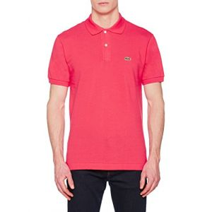 Lacoste L1212 - Polo - Homme - Rose (Sirop) - Taille: L