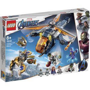 Lego Marvel Super Heroes - Avengers Hulk Helicopter Drop - 76144