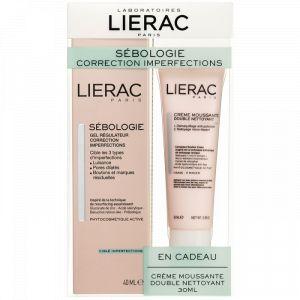 Lierac Sébologie Correction Imperfections - Gel régulateur 40 ml + Crème moussante 30ml
