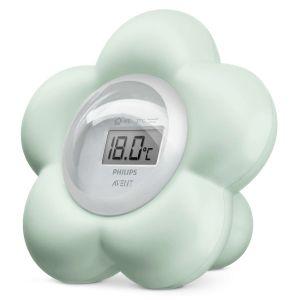 Philips Thermomètre numérique bain et chambre VERT