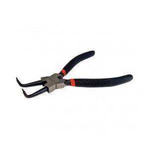 Silverline PL65 - Pince bec courbé pour circlips intérieurs 18 cm