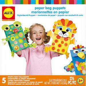 Alex Marionnettes en papier