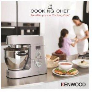 Kenwood Livre de cuisine Recettes pour le Cooking Chef
