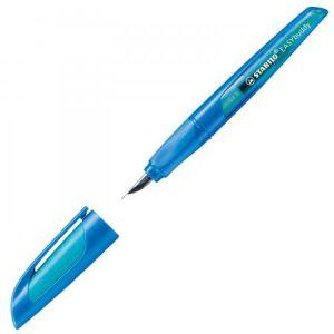 Stabilo 5031/2-41 - Stylo plume EASYbuddy M, DROITIER, bleu turquoise