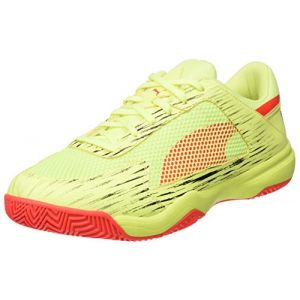 Puma Evospeed Nf Euro 5, Chaussures Multisport Indoor Mixte Adulte, Jaune (Fizzy Yellow-Red Blast Black), 43 EU