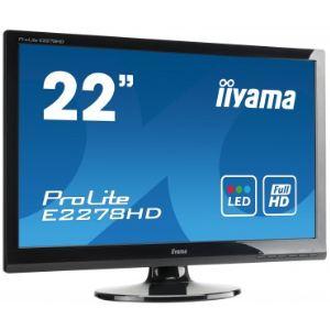 """iiyama ProLite E2278HD-1 - Ecran LED 22"""""""