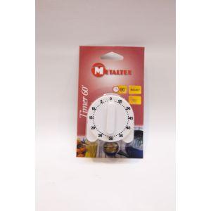 Metaltex Minuteur 60 mn magnétique