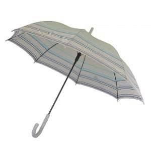 Esprit Parapluie long gris à rayures