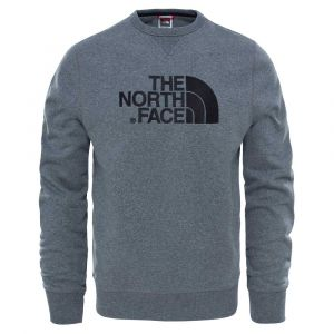 The North Face Sweatshirts Drew Peak Crew - TNF Medium Grey Heather - Taille S