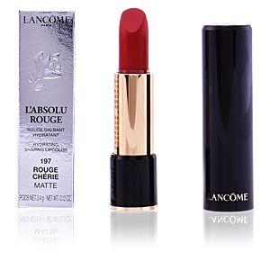 Lancôme L'Absolu Rouge : 197 Rouge Chérie Matte - Rouge galbant hydratant