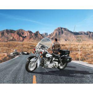 Revell Maquette Moto : US Police Motorbike