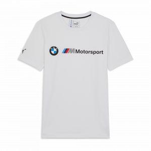 Puma T-Shirt BMW M Motorsport Logo pour Homme White M