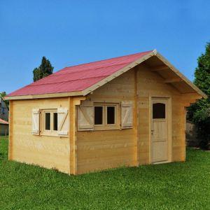 Foresta Cozy CZ 5040.02 - Abri de jardin semi-habitable en bois 60 mm 17,22 m2