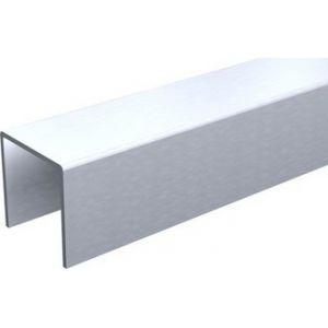 Mantion 1110/500 - Profil U 30 x 30 mm galvanisé longueur 5 mètres