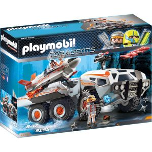 Playmobil 9255 - Top agents : Camion et navette de la Spy Team