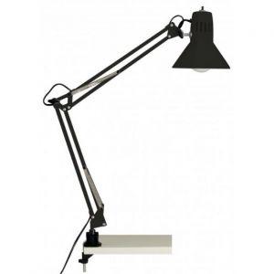 Brilliant AG Lampe de bureau articulable avec interrupteur et fixation Hobby E27 40W noir