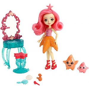 Mattel Enchantimals - Univers coiffeuse étoile de mer