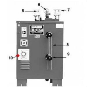 Procopi 1891001 - Thermostat F1 de générateur de vapeur CU