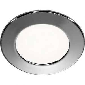 SLV Spot encastré - rond - a led - 3 watts - 3000k dl 126 - ip20 - chrome