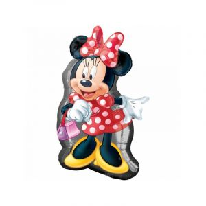 Amscan 48 cm/48,3 cm Disney Minnie Mouse Supershape Ballon en aluminium