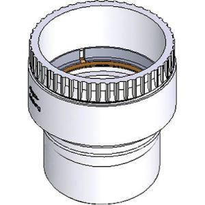 Ten 440510 - Adaptateur PP flexible rigide mâle diamètre 110mm