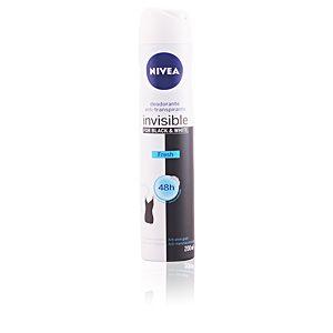 Nivea Invisible for Black & White Fresh - Déodorant spray anti-traces 48h