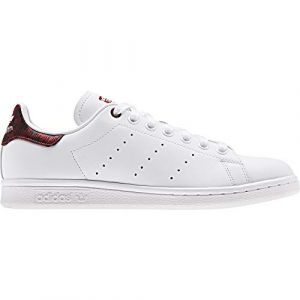 Adidas Stan Smith chaussures Femmes blanc bordeaux T. 37 1/3
