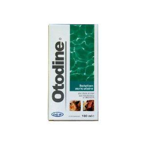 MP Labo Otodine - Solution nettoyante auriculaire à la chlorhexidine pour chien et chat