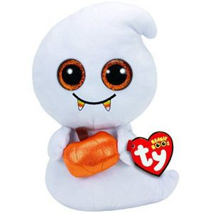 Ty Beanie Babies Boos 37147 Scream The Halloween Ghost Boo Buddy - Occasion